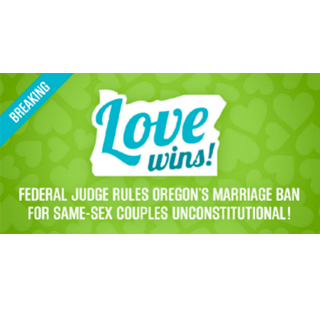 Love Wins in Oregon!
